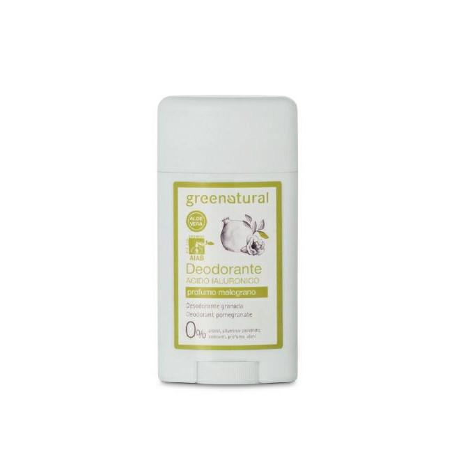 Deodorante Acido Ialuronico Profumo Melograno - Green Natural