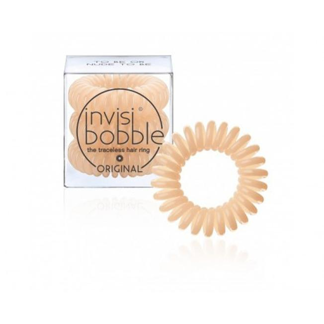 Original To Be or Nude To Be- Sabbia 3 Hair Rings - Invisibobble