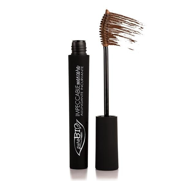 Mascara IMPECCABLE Biologico Brown Allungante - PuroBio