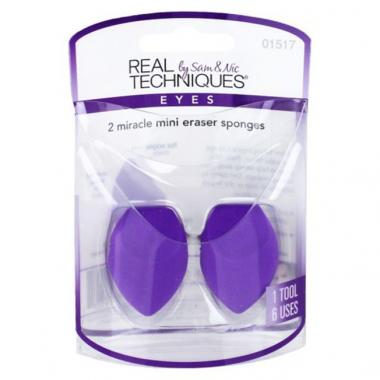 2 Miracle Mini Eraser Sponges- Real Techniques