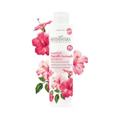 Shampoo Capelli Normali all'ibisco - Maternatura