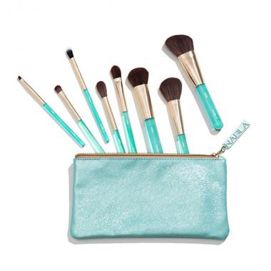 Aquamarine Essential Brush Set - Nabla Cosmetics