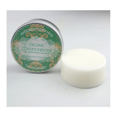 Organic Conditioner Bar Avocado Soft Hug - Biocosme